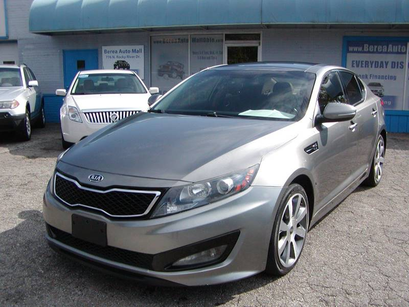 2012 Kia Optima SX Turbo 4dr Sedan 6A for sale at Berea Auto Mall