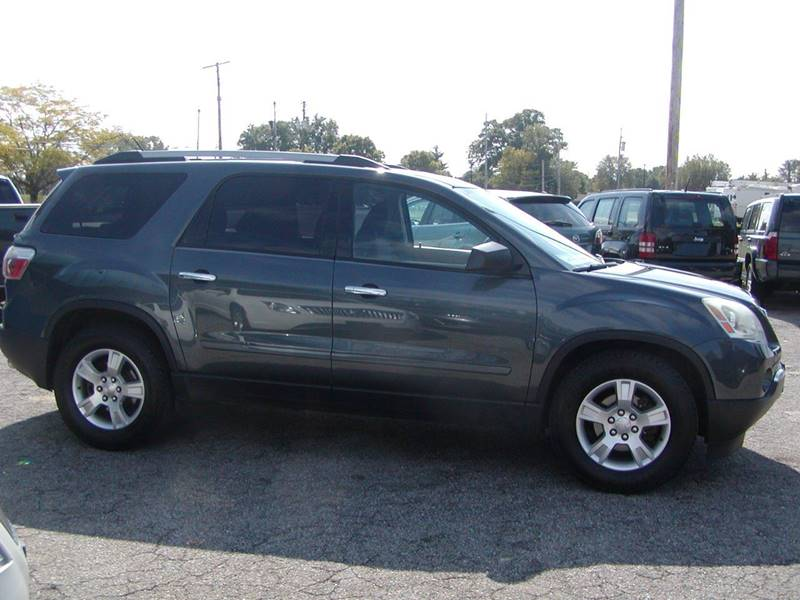 2011 GMC Acadia SL AWD 4dr SUV for sale at Berea Auto Mall