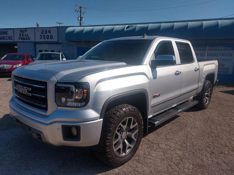 2014 GMC Sierra 1500 SLT 4x4 4dr Crew Cab 5.8 ft. SB for sale at Berea Auto Mall