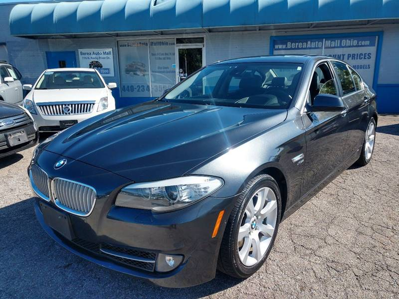 2011 BMW 5 Series 550i xDrive AWD 4dr Sedan for sale at Berea Auto Mall