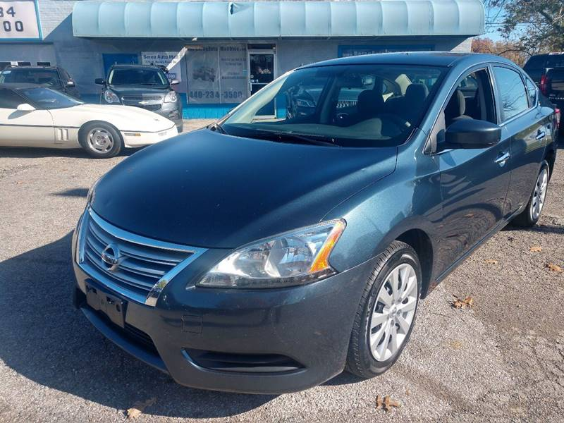 2013 Nissan Sentra S 4dr Sedan CVT for sale at Berea Auto Mall