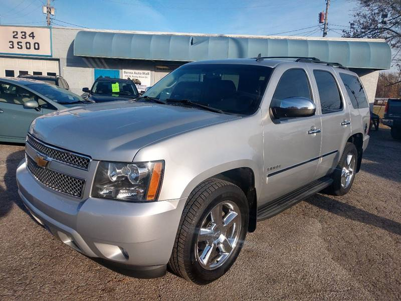 2012 Chevrolet Tahoe LTZ 4x4 4dr SUV for sale at Berea Auto Mall