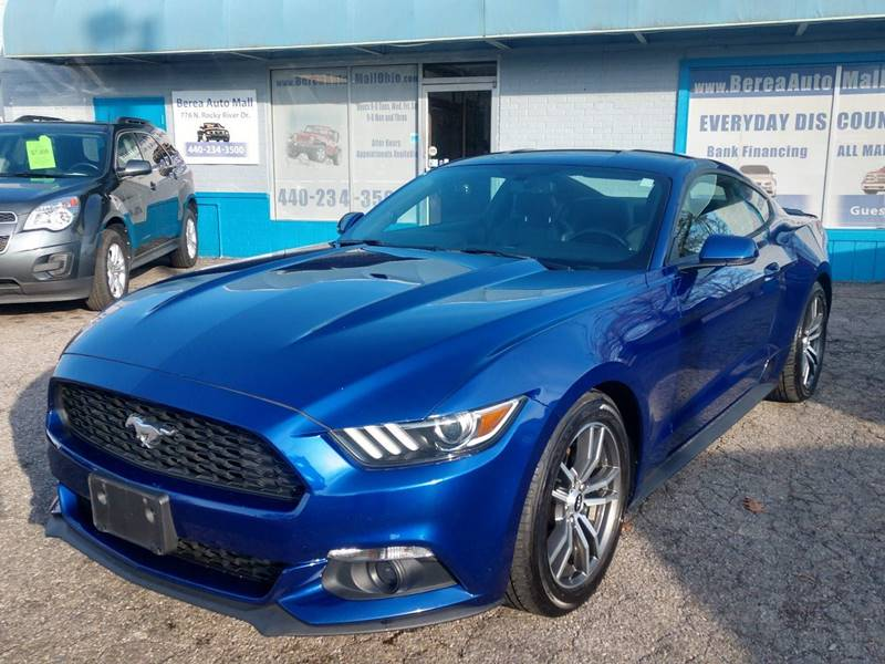 2016 Ford Mustang EcoBoost Premium 2dr Fastback for sale at Berea Auto Mall
