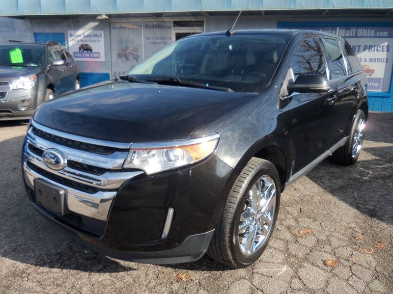 2012 Ford Edge Limited AWD 4dr Crossover for sale at Berea Auto Mall