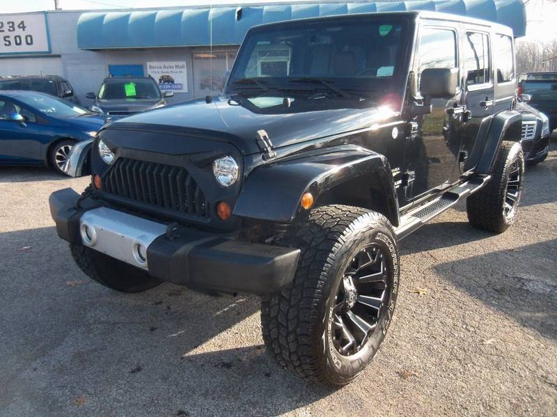 2013 Jeep Wrangler Unlimited Sahara 4x4 4dr SUV for sale at Berea Auto Mall