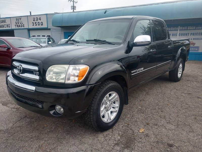 2005 Toyota Tundra SR5 4dr Double Cab 4WD SB V8 for sale at Berea Auto Mall