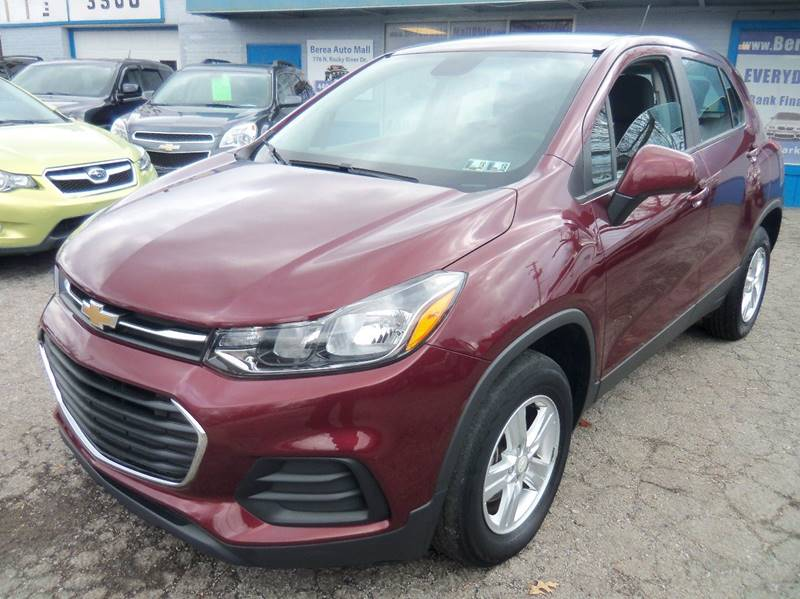 2017 Chevrolet Trax LS AWD 4dr Crossover for sale at Berea Auto Mall