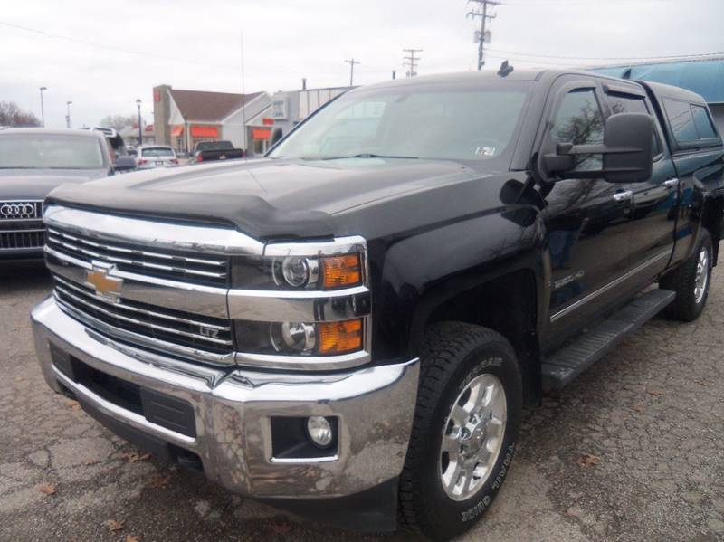2015 Chevrolet Silverado 2500HD LTZ 4x4 4dr Crew Cab SB for sale at Berea Auto Mall