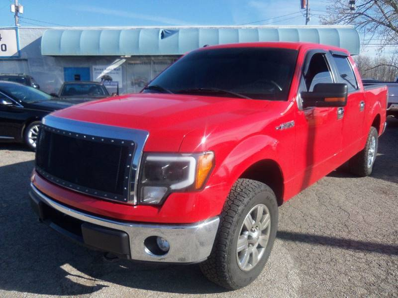 2011 Ford F-150 FX4 4x4 4dr SuperCrew Styleside 5.5 ft. SB for sale at Berea Auto Mall