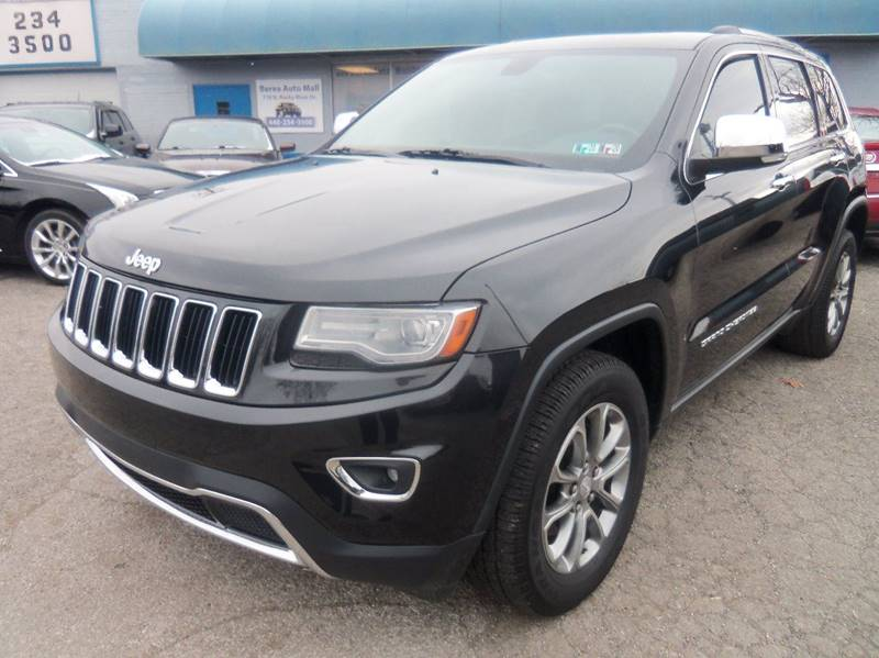 2014 Jeep Grand Cherokee Limited 4x4 4dr SUV for sale at Berea Auto Mall