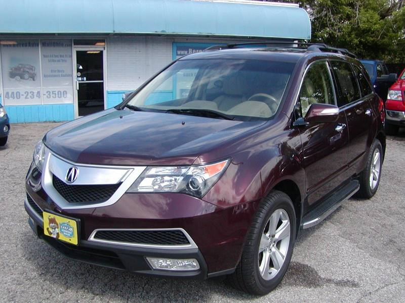 2010 Acura MDX SH AWD w/Tech 4dr SUV w/Technology Package for sale at Berea Auto Mall