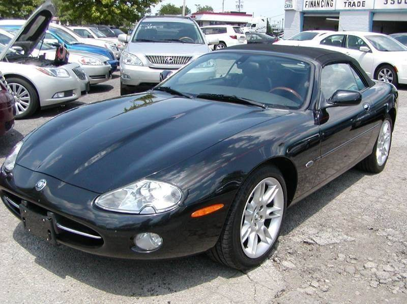 2002 Jaguar XK-Series XK8 2dr Convertible