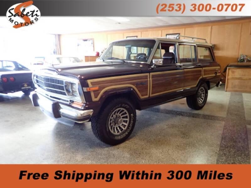 1990 Jeep Grand Wagoneer - Tacoma, WA