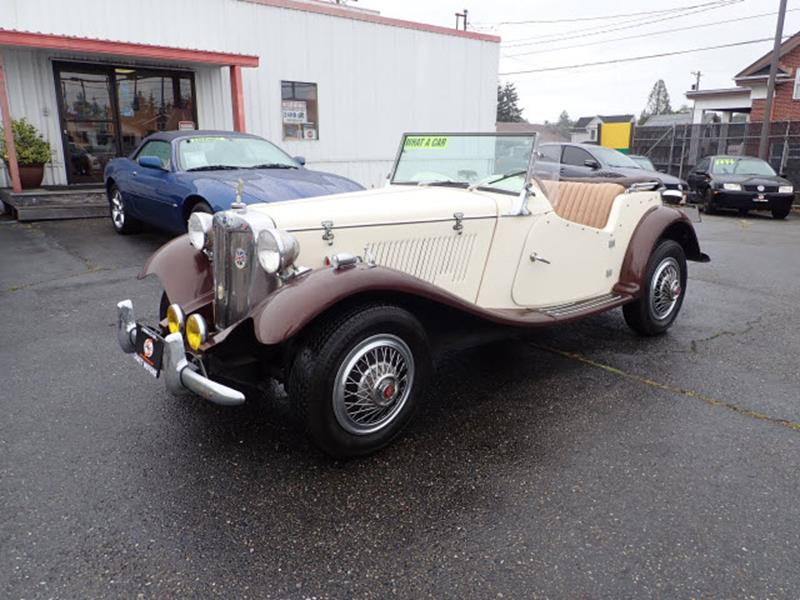 1985 Mg Duchess In Tacoma WA - Sabeti Motors