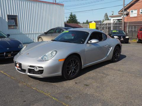 2007 Porsche Cayman for sale in Tacoma, WA