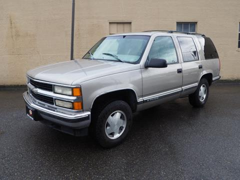 1999 Chevrolet Tahoe for sale in Tacoma, WA