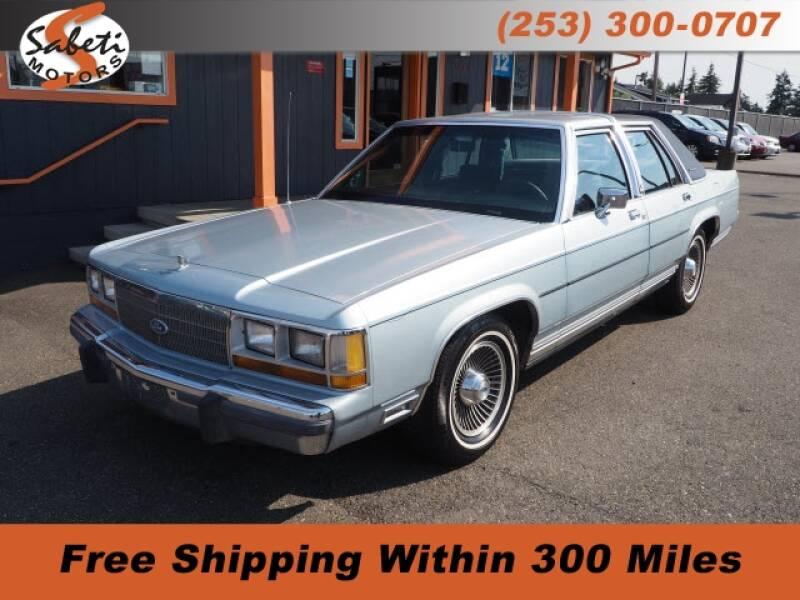 1990 Ford LTD Crown Victoria - Tacoma, WA
