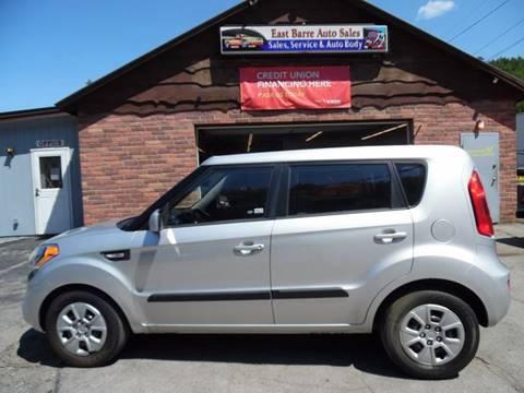 2012 Kia Soul for sale in East Barre, VT