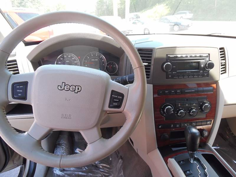 2006 Jeep Grand Cherokee Limited 4dr SUV 4WD w/ Front Side Airbags - East Barre VT