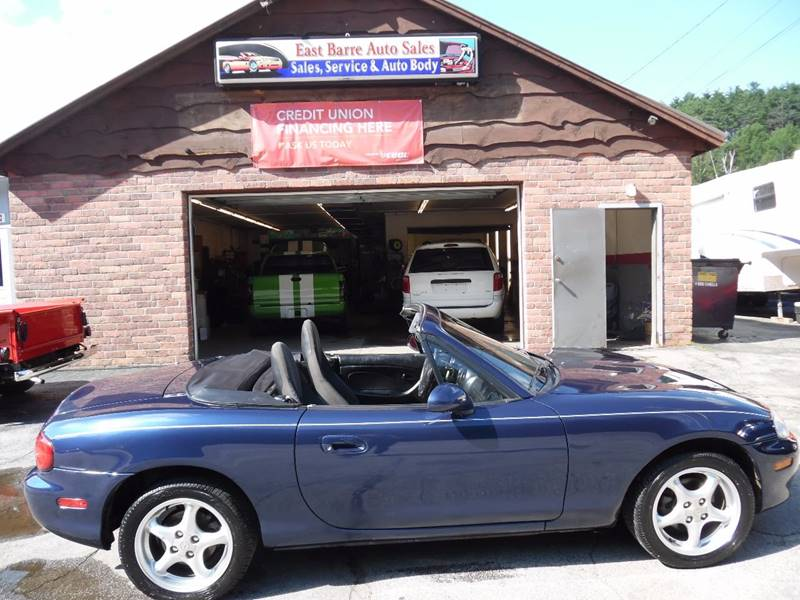 2002 Mazda MX-5 Miata 2dr Roadster - East Barre VT