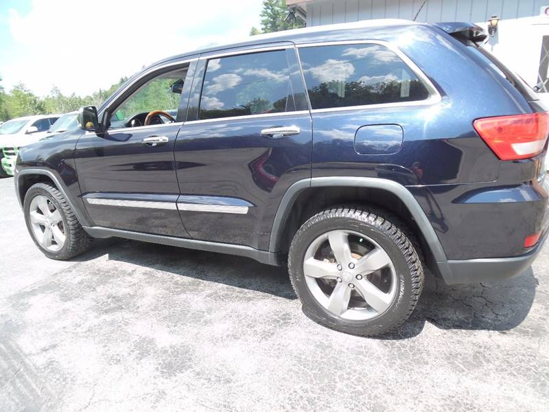 2011 Jeep Grand Cherokee 4x4 Overland 4dr SUV - East Barre VT