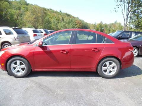 2011 Chevrolet Cruze for sale in East Barre, VT