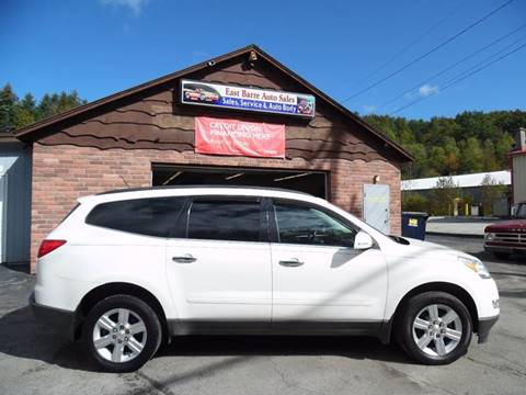 2010 Chevrolet Traverse for sale in East Barre, VT