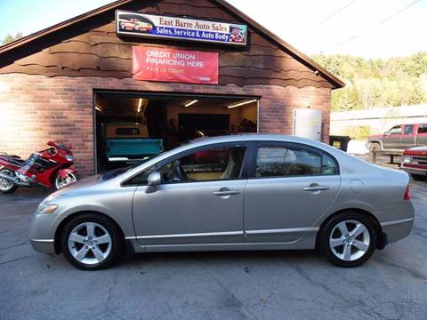 2006 Honda Civic for sale in East Barre, VT