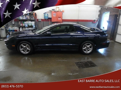 1998 Pontiac Firebird for sale in East Barre, VT