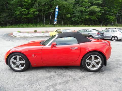 2008 Pontiac Solstice for sale in East Barre, VT
