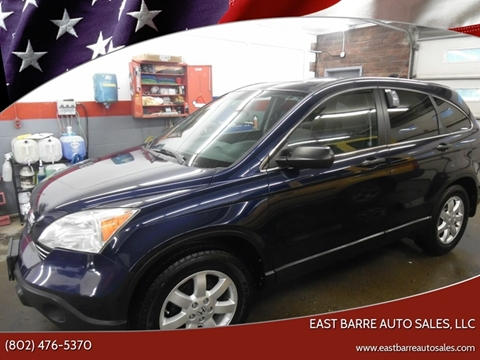 2008 Honda CR-V for sale at East Barre Auto Sales, LLC in East Barre VT
