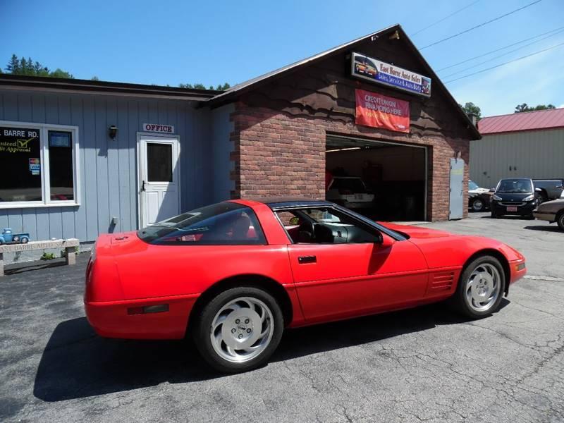 1993 Chevrolet Corvette 2dr Hatchback - East Barre VT