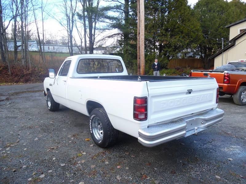 1985 Dodge RAM 100 2dr Standard Cab LB - East Barre VT