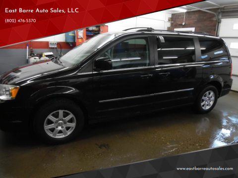 2010 Chrysler Town and Country for sale at East Barre Auto Sales, LLC in East Barre VT