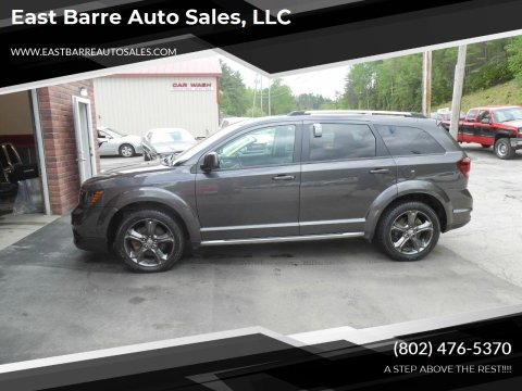 2014 Dodge Journey for sale at East Barre Auto Sales, LLC in East Barre VT