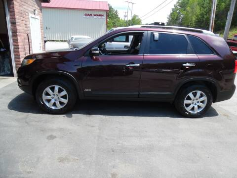 2011 Kia Sorento for sale at East Barre Auto Sales, LLC in East Barre VT