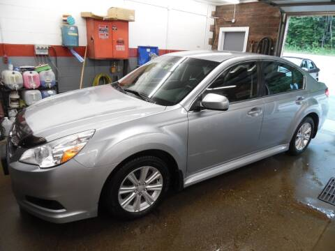 2012 Subaru Legacy for sale at East Barre Auto Sales, LLC in East Barre VT