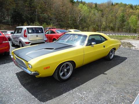 1973 Dodge Challenger for sale in East Barre, VT