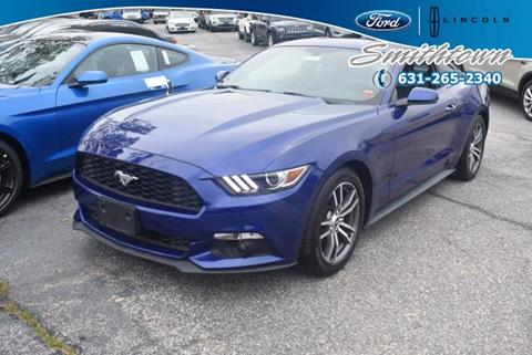 2015 Ford Mustang for sale in Saint James, NY