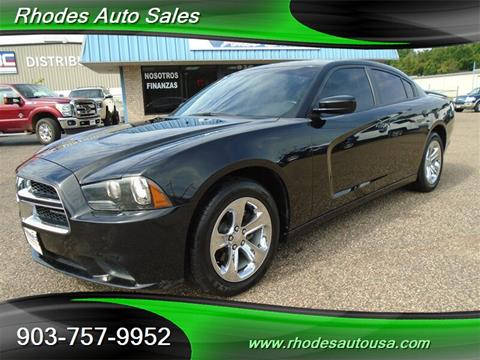 Rhodes Auto Sales >> 2014 Dodge Charger For Sale In Longview Tx