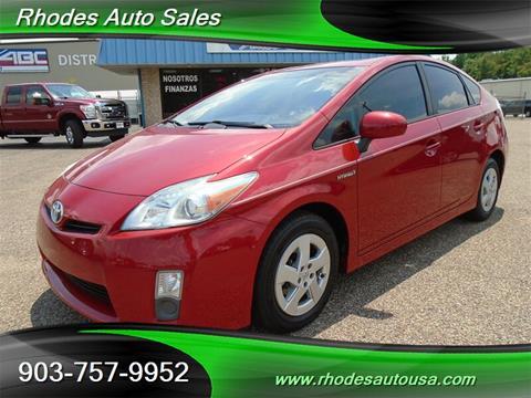 Rhodes Auto Sales >> 2011 Toyota Prius For Sale In Longview Tx