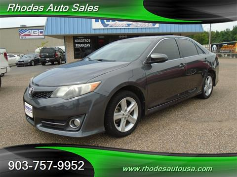 Rhodes Auto Sales >> 2013 Toyota Camry For Sale In Longview Tx