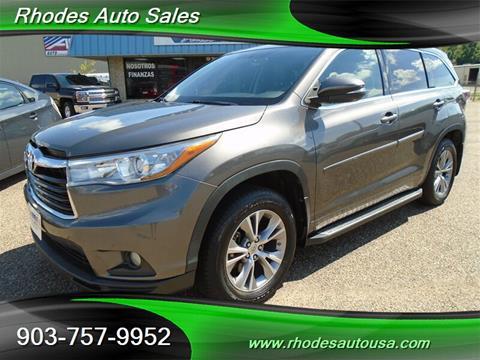 Rhodes Auto Sales >> Rhodes Auto Sales Longview Tx Inventory Listings