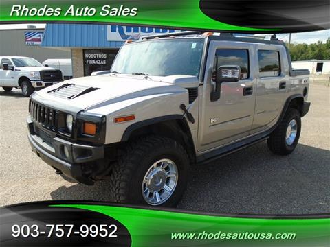 2005 HUMMER H2 SUT for sale in Longview, TX