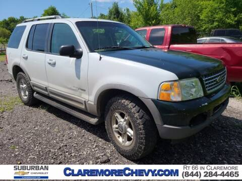 2002 Ford Explorer for sale at Suburban Chevrolet in Claremore OK
