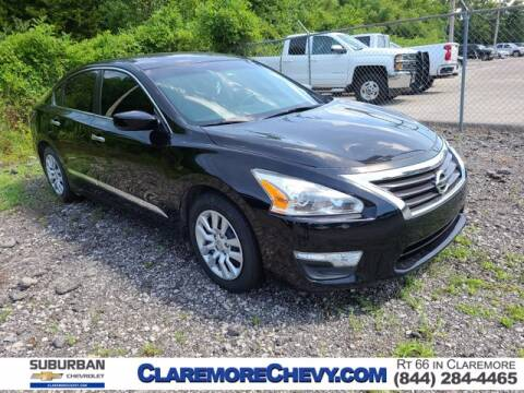 2015 Nissan Altima for sale at Suburban Chevrolet in Claremore OK