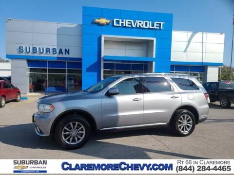 2018 Dodge Durango for sale at Suburban Chevrolet in Claremore OK