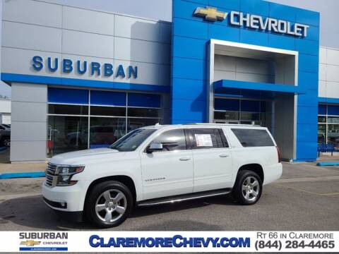2016 Chevrolet Suburban for sale at Suburban Chevrolet in Claremore OK