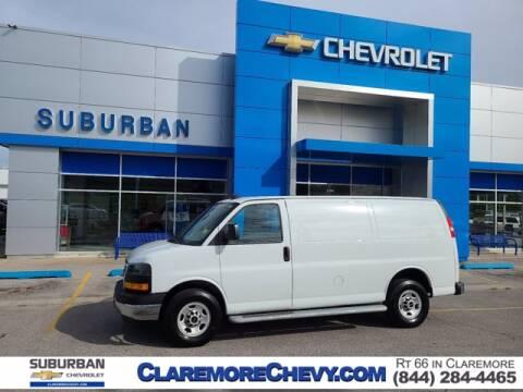 2019 GMC Savana Cargo for sale at Suburban Chevrolet in Claremore OK