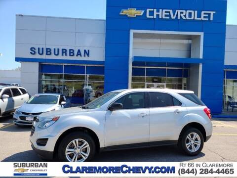 2017 Chevrolet Equinox for sale at Suburban Chevrolet in Claremore OK